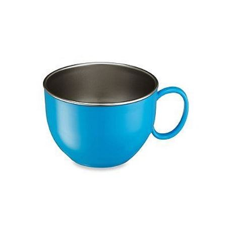 Picture of DIN DIN SMART™ STAINLESS DINNER BOWL - BLUE