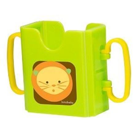 Picture of SIPPIN' SMART™ JUICE BOX HOLDER - LION/ GREEN