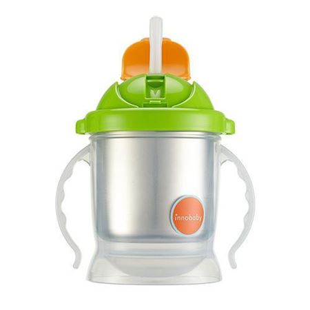 Picture of SIPPIN' SMART™ EZ FLOW STAINLESS SIPPY - GREEN