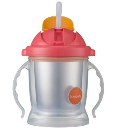 Picture of SIPPIN' SMART™ EZ FLOW STAINLESS SIPPY - PINK