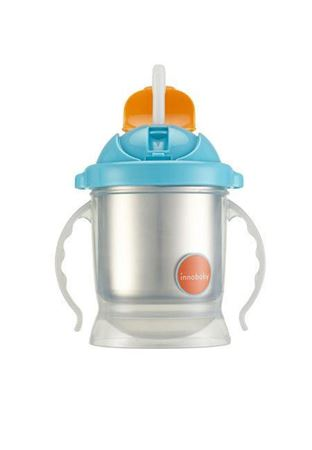 Picture of SIPPIN' SMART™ EZ FLOW STAINLESS SIPPY - BLUE