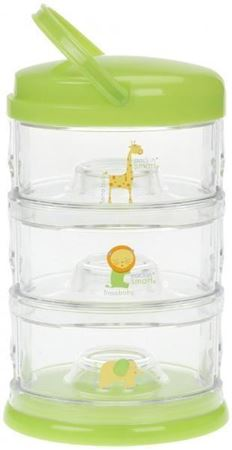 Picture of PACKIN' SMART® STACKABLES -3 TIER / ZOO ANIMAL / LIME