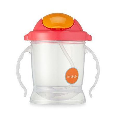 Picture of SIPPIN' SMART™ EZ FLOW STRAW SIPPY - PINK