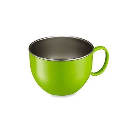Picture of DIN DIN SMART™ STAINLESS DINNER BOWL - GREEN