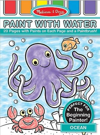 Picture of Ocean Paint with Water Kids' Art Pad