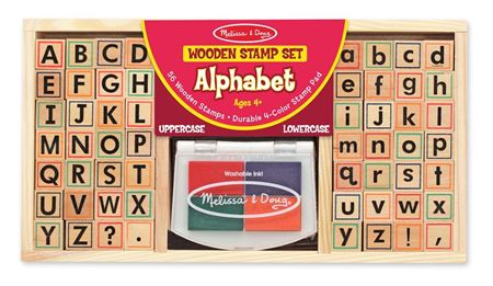 Picture of Alphabet Stamp Set