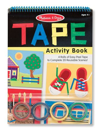 Picture of Melissa & Doug Tape Activity Book