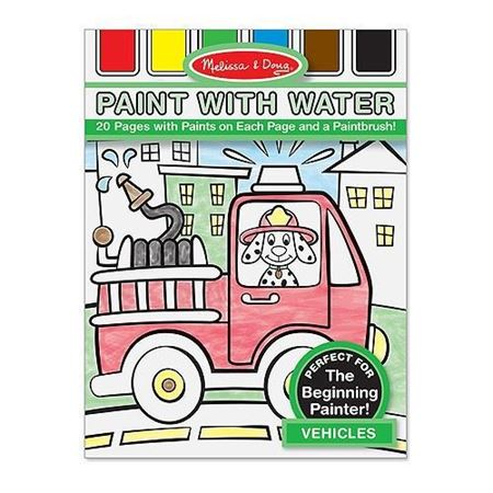 Picture of Vehicles Paint with Water Kids' Art Pad