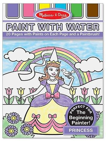 Picture of Princess Paint with Water Kids' Art Pad