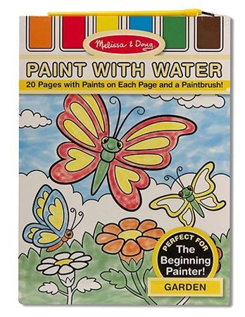 Picture of Garden Paint with Water Kids' Art Pad
