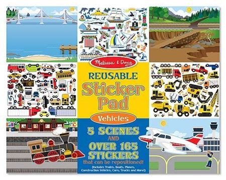 Picture of Reusable Sticker Pad - Vehicles