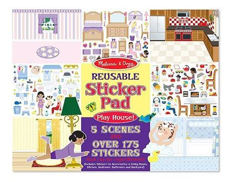 Picture of Reusable Sticker Pad - Play House!