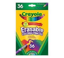 Picture of 36ct Erasable Colored Pencils