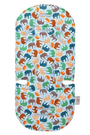 Picture of BLUE ELEPHANT STROLLER LINER