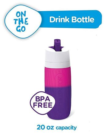 Picture of Chill Factor Color Changing Drink Bottle - Pink to Purple