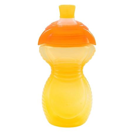 Picture of Click Lock™ Bite Proof Sippy Cup - 9oz (Yellow/Orange)