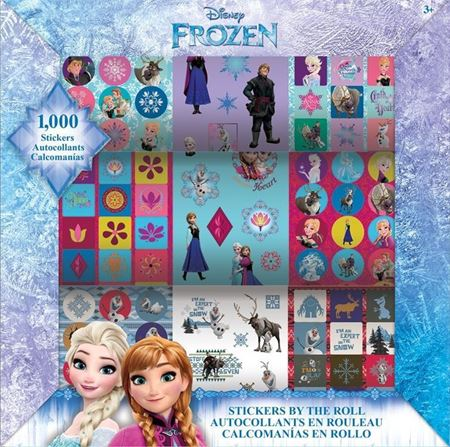 Picture of Disney Frozen Stickers by the Roll