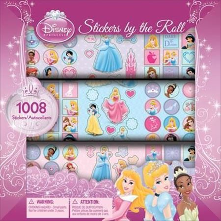 Picture of Disney Princess Stickers by the Roll