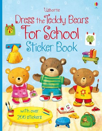 Picture of Dress the teddy bears for school sticker book