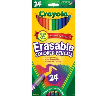Picture of Erasable Colored Pencils 24 ct.