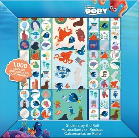 Picture of Finding Dory Stickers by the Roll