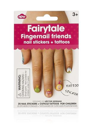 Picture of Fingernail Friends - Fairytale Cuticle Tattoos
