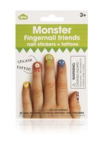 Picture of Fingernail Friends - Monster Cuticle Tattoos