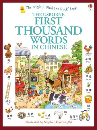 Picture of First thousand words in Chinese (Mandarin)