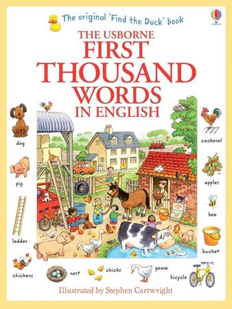 Picture of First thousand words in English