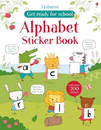 Picture of Get ready for school alphabet sticker book