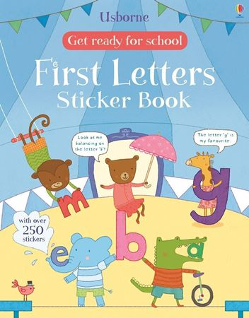 Picture of Get ready for school first letters sticker book