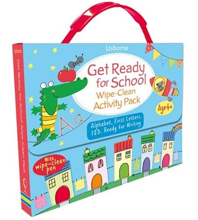 Picture of Get ready for school wipe-clean activity pack