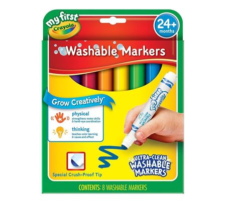 Picture of My First Crayola Washable Markers 8ct.