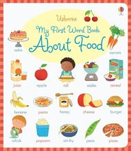 Picture of My First Word Book About Food
