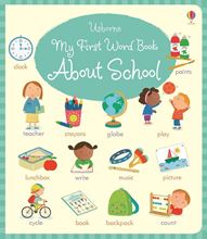 Picture of My first word book about school