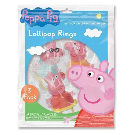 Picture of Peppa Pig™ 3 Pack Lollipop Rings