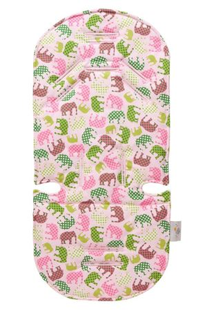 Picture of PINK ELEPHANT STROLLER LINER