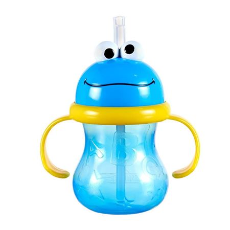 Picture of Sesame Street® Cookie Monster Straw Cup - 8oz