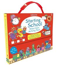 Picture of Starting school wipe-clean activity pack