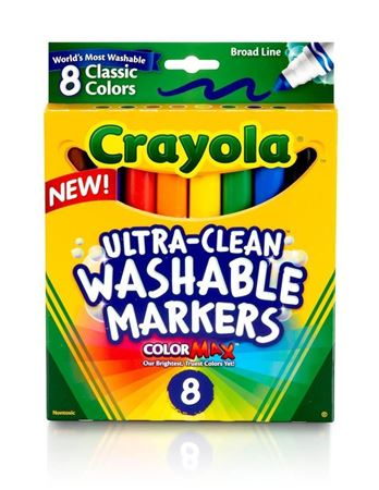 Picture of Ultra-Clean Washable Markers, Broad Line, 8 Ct.