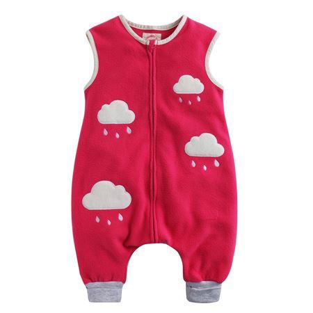 Picture of Vaenait Baby Micro Fleece Blanket Sleepsack - Pink Cloud