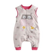 Picture of Vaenait Baby Soft Blanket Sleeping bag - Pink Owl