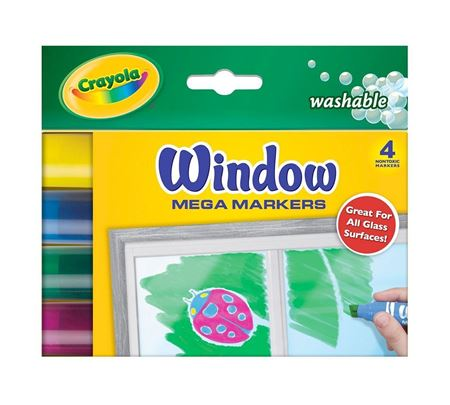 Picture of Window Mega Markers 4 ct.