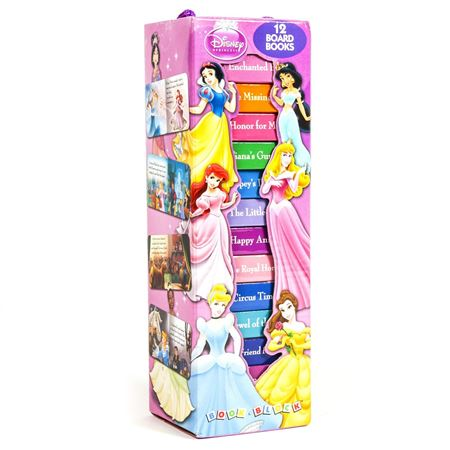 Picture of Disney Princess: 12 Book Block Tower