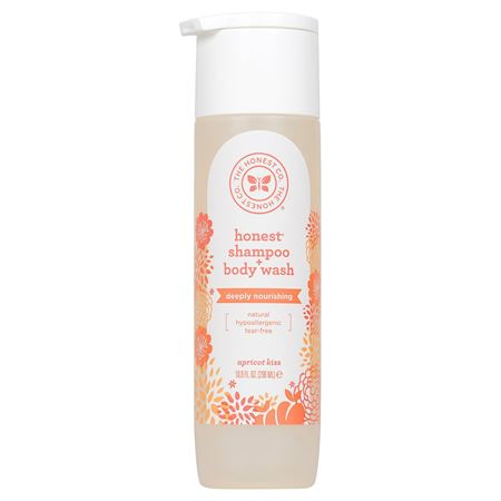 Picture of The Honest Co. Shampoo + body wash-  Apricot Kiss