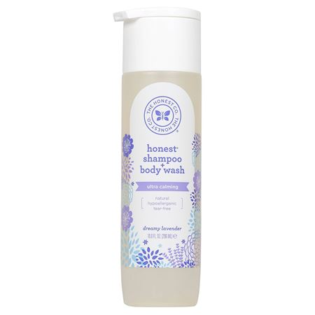 Picture of The Honest Co. Shampoo + body wash- Dreamy Lavender