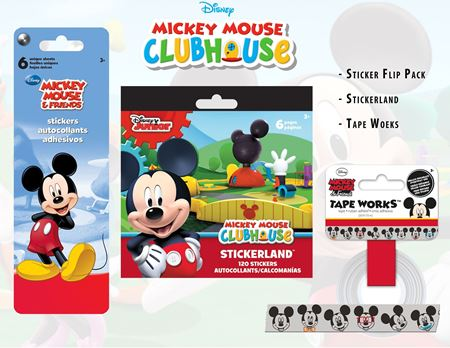 Picture of Mickey Mouse Sticker Collection