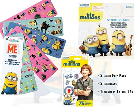 Picture of Minions Sticker Collection