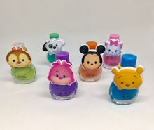 Picture of (Sold Out) Tsum Tsum Non-Toxic Nail Polish with Hair Ties- 6 pack