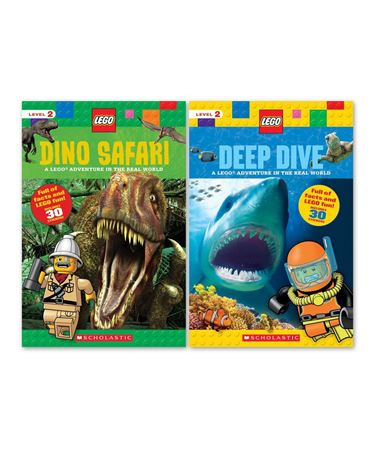 Picture of LEGO Real World Adventure Paperback Set